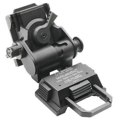 Wilcox G24 NVG Mount, Black, 28300G24-B Night Vision Accessory