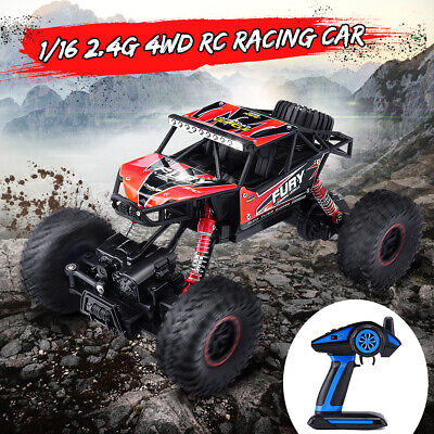 1/16 Remote Control Car RC Electric Off-Road Racing Monster Truck Vehicle 4WD
