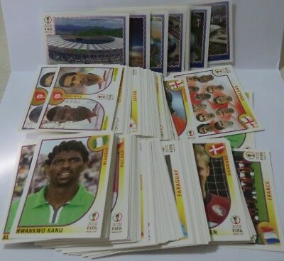 PANINI World cup Korea 2002 Choose/ Pick your stickers, see description