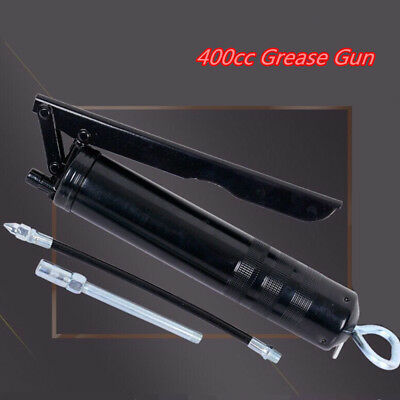Car 400cc Black Heavy Duty Grease Gun Sealant Hand Tool Filling Oiling Machine