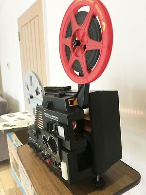 Chinon Sound 9500 MV Twin Track Magnetic & Optical Super 8 Projector Serviced