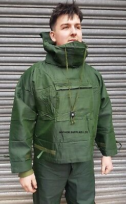 British Army NBC SUIT Vacuum Sealed OLIVE GREEN MK3 Small 46''  £18 for 2 Suits