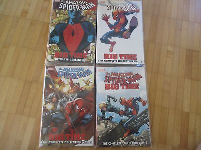 Amazing Spider-man: BIG TIME Ultimate Collection 1,2,3,4 complete US Marvel