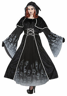 5ad2126204d PLUS SIZE VINTAGE Medieval Dress Gown Cosplay Queens Costume Fleur ...