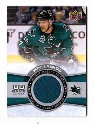 Patrick Marleau Nhl 2015-16 Upper Deck Game Jerseys (San Jose Sharks,maple Leafs