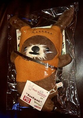 SDCC 2015 Flat Bonnie & Piq Exclusive BunEwok STAR WARS EWOK PLUSH RARE! LTD