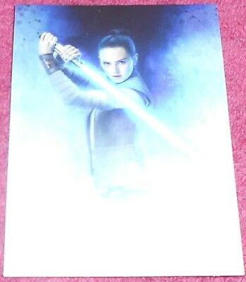 Losse kaarten Star Wars Journey to The Last Jedi Rey Continuity Trading Card #2 of 15