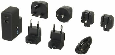Genuine GoPro Supercharger International Dual-Port Charger For All GoPro Camera