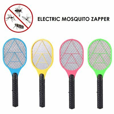 Bug Zapper Electric Tennis Racket Mosquito Fly Swatter Killer Insects Handheld