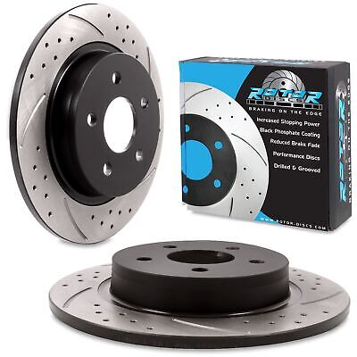 VOLVO C30 1.6 1.8 2.0 D3 D4 T5 2 FRONT BRAKE DISCS AND BRAKE PADS SET NEW 04-