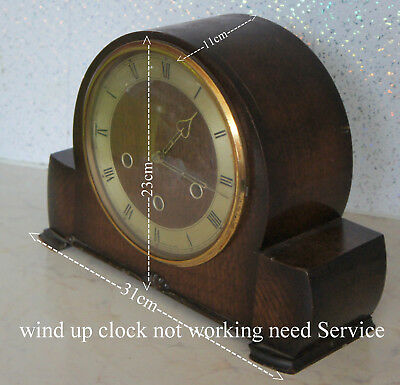 smiths wind up clock not working need service