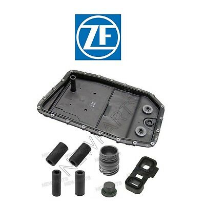 BMW E90 E60 F01 7-Series Mechatronic Seals and A/T Oil Pan & Filter KIT ZF OEM