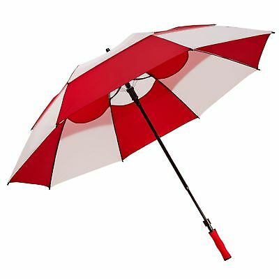 BagBoy 62 Inch Wind Vent Extendable Double Vented Canopy Umbrella