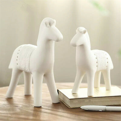 Porcelain Handmade Horse Figurines Handmade Collectable Gifts Decor Ornament