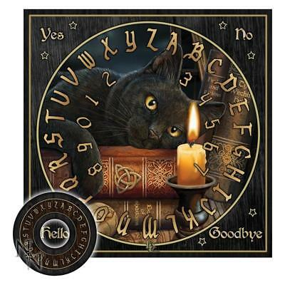 The Witching Hour Spirit Board Ouija Board Pagan Gothic Wicca Pagan Witch Cat