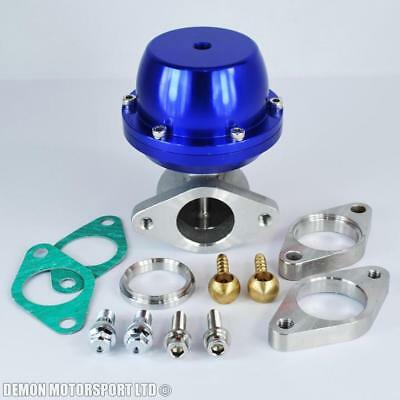 Performance 38mm Blue External Turbo Wastegate Motorsport Drag Drift Rally New
