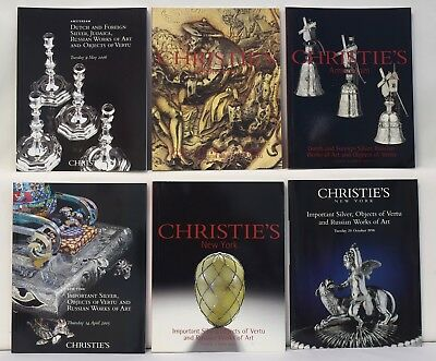 Christies Lot 6 Important Silver Objects Vertu Russian Works Art Catalogs 1047