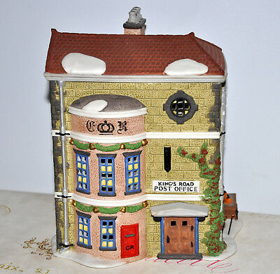 DEPT 56 Kings Road Post Office Dickens Collectible Lighted House
