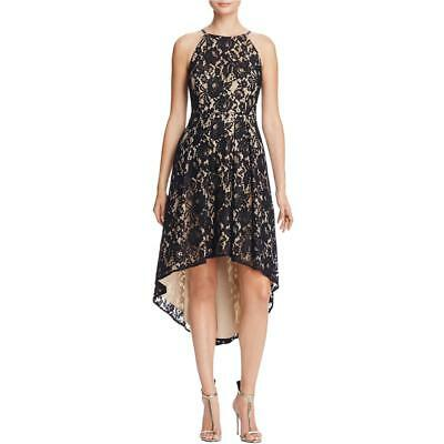 Aidan by Aidan Mattox Womens Lace Halter Party Cocktail Dress BHFO 6319