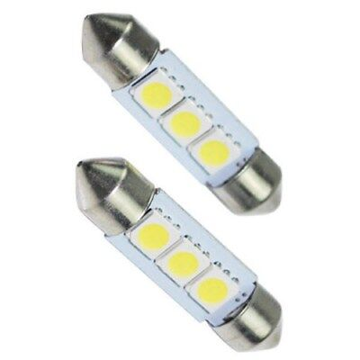 2 x 3 smd led soffitte 41mm 12v wei innenraum. Black Bedroom Furniture Sets. Home Design Ideas