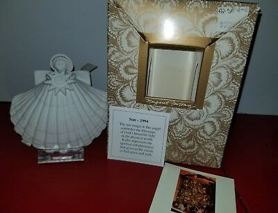 Margaret Furlong 1994 Sun Angel ornament with stand and original box