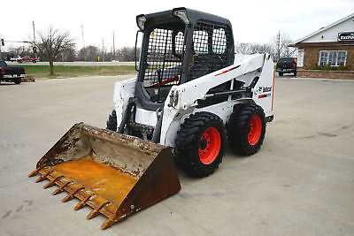 NICE! 2015 Bobcat S510 Diesel Skid Steer Only 845 Hours! MAINTAINED! Tier 4