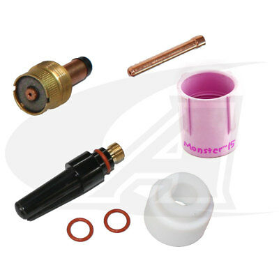 "Monster #15 Kit: Heavy-Duty, 17/18/26 & 3-Series Torches: 1/8"" (3.2mm)"