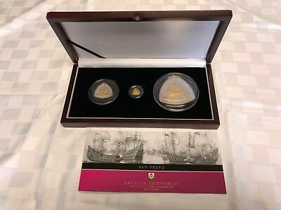 2007 Bermuda San Pedro Shipwrecks Gold And Silver Collection