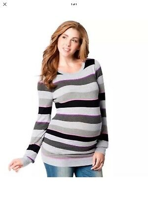 Motherhood Maternity Women Lightweight Sweater Top sz XL