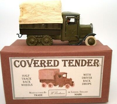 Britains No. 1433 British Army Covered Lorry With Driver - Pre-War