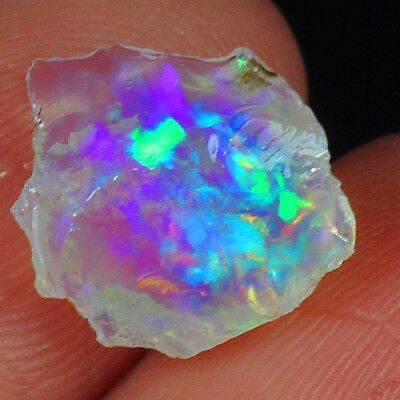 7CT 100% Natural Ethiopian Welo Opal Play Of Color Rough Specimen YOW5972