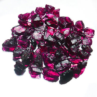 154CT 100% Natural Purple Garnet Rhodolite Facet Rough Specimen YPEb336