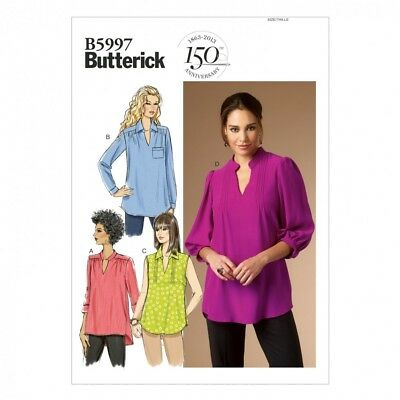 BUTTERICK LADIES EASY Sewing Pattern 5997 Blouse Tops (Butterick ...