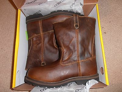 Mens Carolina Ranch Wellington Boots Size 8 1/2 D