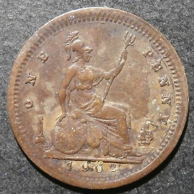 Toy money - Penny 1902 - Copper Edward VII - Very rare Rogers#740 RR