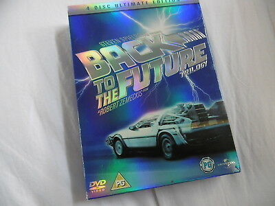 Back To The Future Trilogy 4 Disc Ultimate Edition Original Dvd Pal