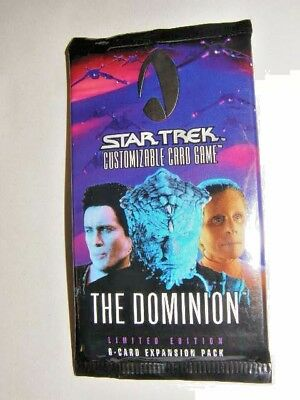 1998 Star Trek CCG  Dominion Decipher Booster 52 sealed packs