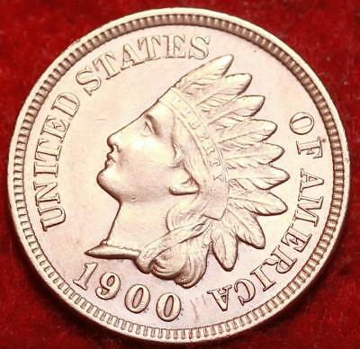 Uncirculated 1900  Philadelphia Mint  Indian Head Cent