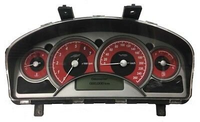 Holden Commodore Genuine VY SS Red Face Instrument Cluster - 0 Klms (92117028)