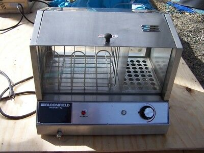 Nice Working Bloomfield Integrity Model 6440 Hot Dog Steamer Cooker