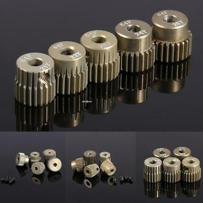New 64DP 3.175mm Pinion Motor Gear Set for 1/10 RC Car Brushed Brushless EA