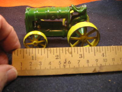 John Deere Farm Tractor Toy,heavy (200 G) Diecast Tractor/toy,,needs Repair