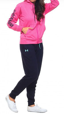 New With Tags Women's Under Armour Sweatpants Fleece Joggers Athletic Gym Pants