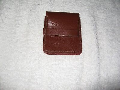 Brand New Vintage Coin Purse Leather Brown