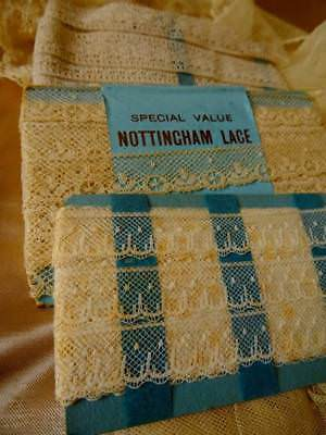 Three Wonderful Original Packs Or Antique Lace Unused