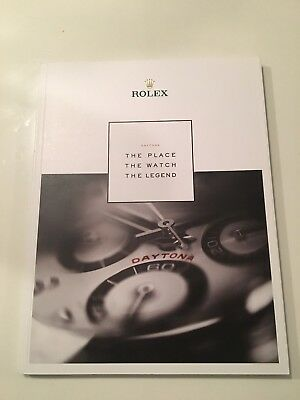 "Rolex Daytona 116500LN Magazine Book ""The Place The Watch The Legend"" 2017"