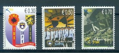 Kosovo 2010 Emblems Of Police, Defence And Security Forces Mnh Very Fine