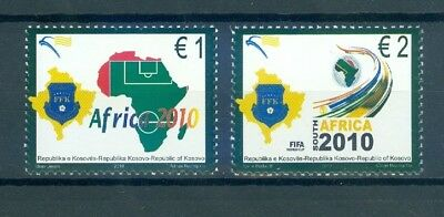 Kosovo 2010 World Cup Soccer Championships, South Africa Mnh Very Fine
