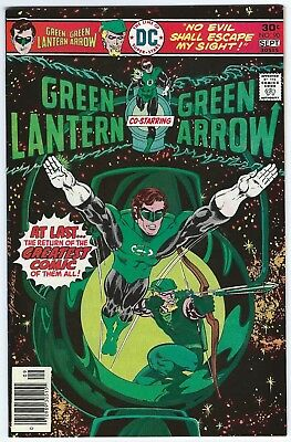 GREEN LANTERN #90-95 – 6 Issues – Mike Grell – 1976 - NM