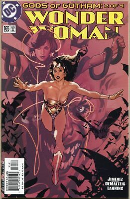 Wonder Woman (Vol. 2) #165 - VF/NM - Adam Hughes Cover Art